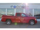 2005 Flame Red Dodge Ram 1500 SRT-10 Quad Cab #51542096
