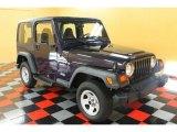 1999 Jeep Wrangler Deep Amethyst Pearlcoat