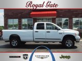 2007 Bright White Dodge Ram 3500 Big Horn Quad Cab 4x4 #51541930