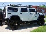 2003 White Hummer H2 SUV #51542289