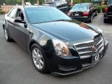 2009 Black Cherry Cadillac CTS Sedan #51568983
