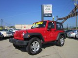 2011 Flame Red Jeep Wrangler Sport S 4x4 #51568912