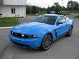 2012 Ford Mustang Grabber Blue