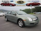 2009 Moss Green Metallic Ford Fusion SE #51568949