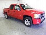2011 Victory Red Chevrolet Silverado 1500 LT Crew Cab 4x4 #51576260