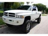 2001 Bright White Dodge Ram 1500 SLT Club Cab 4x4 #51576075
