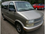 Light Pewter Metallic Chevrolet Astro in 2002