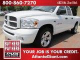 2007 Bright White Dodge Ram 1500 Sport Quad Cab #51576401