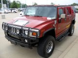 2003 Sunset Orange Metallic Hummer H2 SUV #51576300