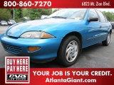 1998 Bright Aqua Metallic Chevrolet Cavalier Sedan #51576403