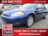 2006 Laser Blue Metallic Chevrolet Impala LT #51576404