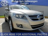 2011 White Gold Metallic Volkswagen Tiguan SEL #51576407