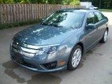 2011 Steel Blue Metallic Ford Fusion SE #51576318