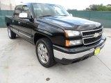 2002 Onyx Black Chevrolet Silverado 1500 LS Crew Cab #51576096