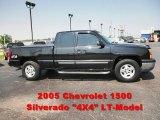 2005 Black Chevrolet Silverado 1500 LS Extended Cab 4x4 #51576424