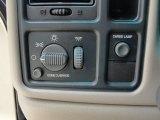 2002 Chevrolet Silverado 1500 LS Crew Cab Controls