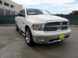 2009 Stone White Dodge Ram 1500 Lone Star Edition Crew Cab #51576106