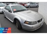 2001 Silver Metallic Ford Mustang V6 Coupe #51576113