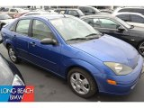 2003 French Blue Metallic Ford Focus ZTS Sedan #51576115