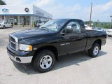 2004 Black Dodge Ram 1500 SLT Regular Cab 4x4 #51613952