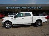 2011 Oxford White Ford F150 Lariat SuperCrew 4x4 #51613815