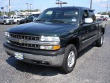 2002 Forest Green Metallic Chevrolet Silverado 1500 LT Extended Cab 4x4 #51613504
