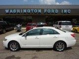 2008 White Suede Lincoln MKZ AWD Sedan #51613836