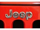 2011 Jeep Wrangler Sport 4x4 Marks and Logos