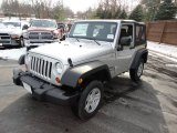 2011 Bright Silver Metallic Jeep Wrangler Sport 4x4 #51613554