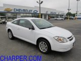 Summit White Chevrolet Cobalt in 2010