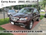2008 Dark Cherry Pearl Acura MDX  #51613881