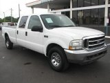 2004 Oxford White Ford F250 Super Duty XLT Crew Cab #51614213