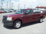2006 Dark Toreador Red Metallic Ford F150 XL Regular Cab #51613905