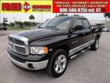2004 Black Dodge Ram 1500 Laramie Quad Cab 4x4 #51614047
