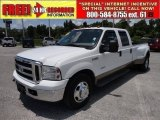 2005 Oxford White Ford F350 Super Duty Lariat Crew Cab Dually #51614049