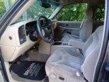 2001 GMC Sierra 1500 SLE Extended Cab 4x4 Neutral Interior