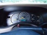 2001 GMC Sierra 1500 SLE Extended Cab 4x4 Gauges