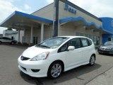 2011 Taffeta White Honda Fit Sport #51614078