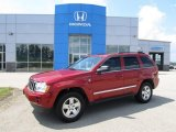 2006 Inferno Red Crystal Pearl Jeep Grand Cherokee Limited 4x4 #51670124