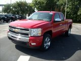 2011 Victory Red Chevrolet Silverado 1500 LT Extended Cab #51669634