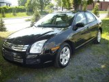 2008 Black Ebony Ford Fusion SE #51669802
