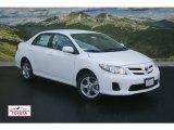 2011 Super White Toyota Corolla LE #51669457