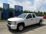 2011 Summit White Chevrolet Silverado 1500 LT Extended Cab #51669648