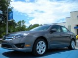 2011 Sterling Grey Metallic Ford Fusion SE #51669662