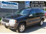 2002 Black Jeep Grand Cherokee Laredo 4x4 #51669815