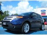 2011 Kona Blue Metallic Ford Explorer XLT #51669663
