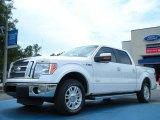 2011 White Platinum Metallic Tri-Coat Ford F150 Lariat SuperCrew #51669664