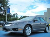 2011 Sterling Grey Metallic Ford Fusion SE #51669670