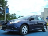 2012 Kona Blue Metallic Ford Focus S Sedan #51669678