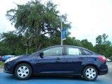 Kona Blue Metallic Ford Focus in 2012